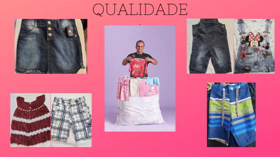 Mistinha - fardo de roupas usadas infantil qualidade