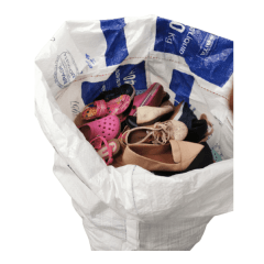 Fardo de sapatos misto 100 peças para brechó - Segunda Linha