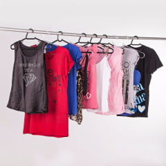 Fardo de roupas usadas - Misto 300 peças